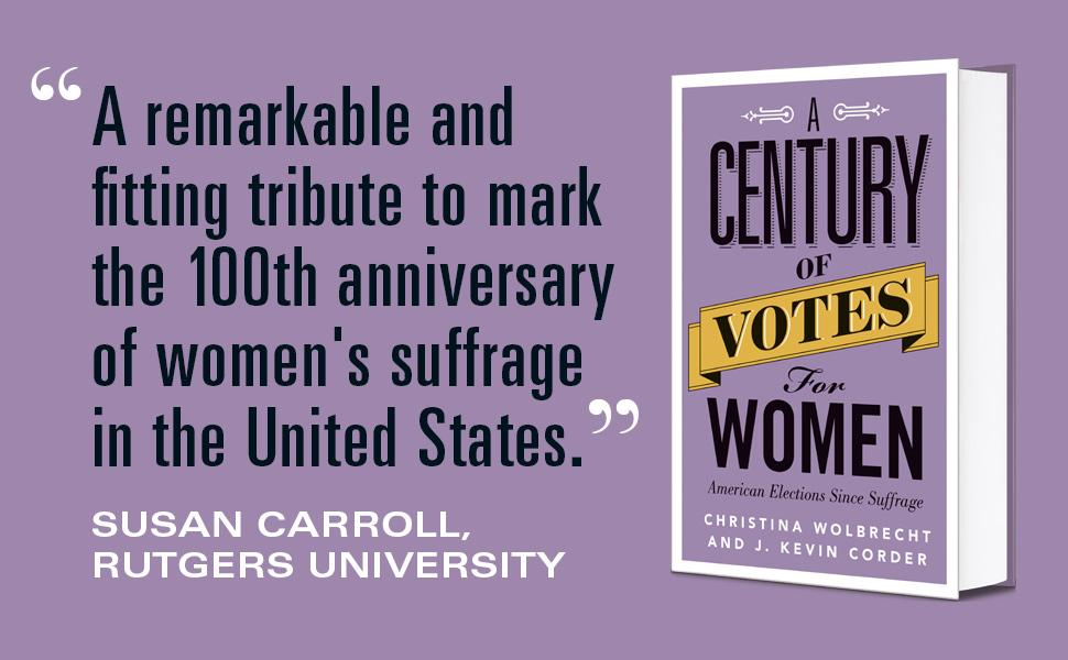 Susan Carroll quote, century of votes