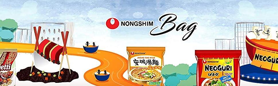 nongshim ramen noodle soup