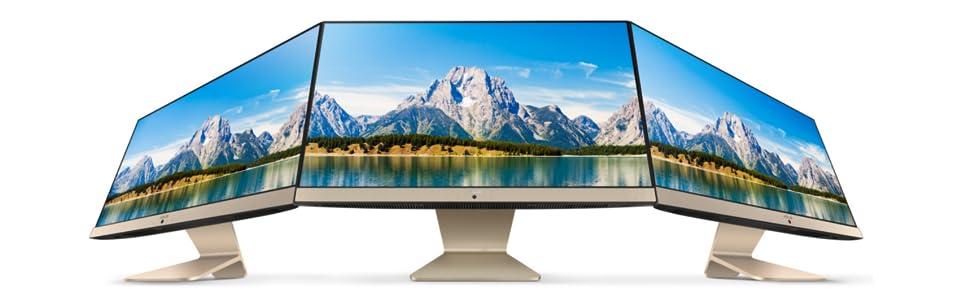 Asus Vivo V222UAK-BA082T 21.5-inch All-in-One Desktop (Core  i5-8250U/8GB/1TB/Windows 10/Integrated Graphics), Black: Amazon.in:  Computers & Accessories