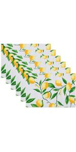 lemon bliss placemat