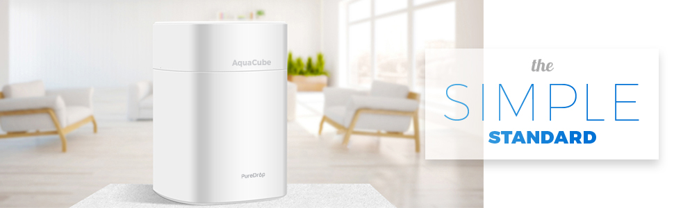 Aquacube the simple standard