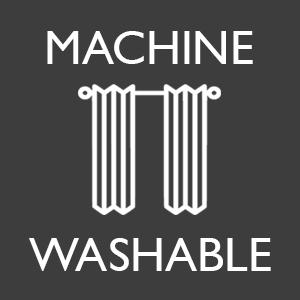 machine washable window curtain panels