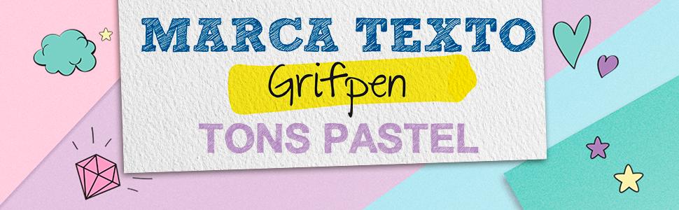 Marca Texto Grifpen Tons Pastel