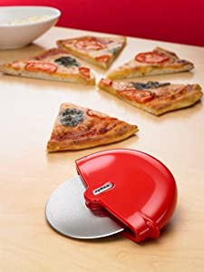 Amazon Com Zyliss Pizza Cutter Wheel And Slicer Pizza