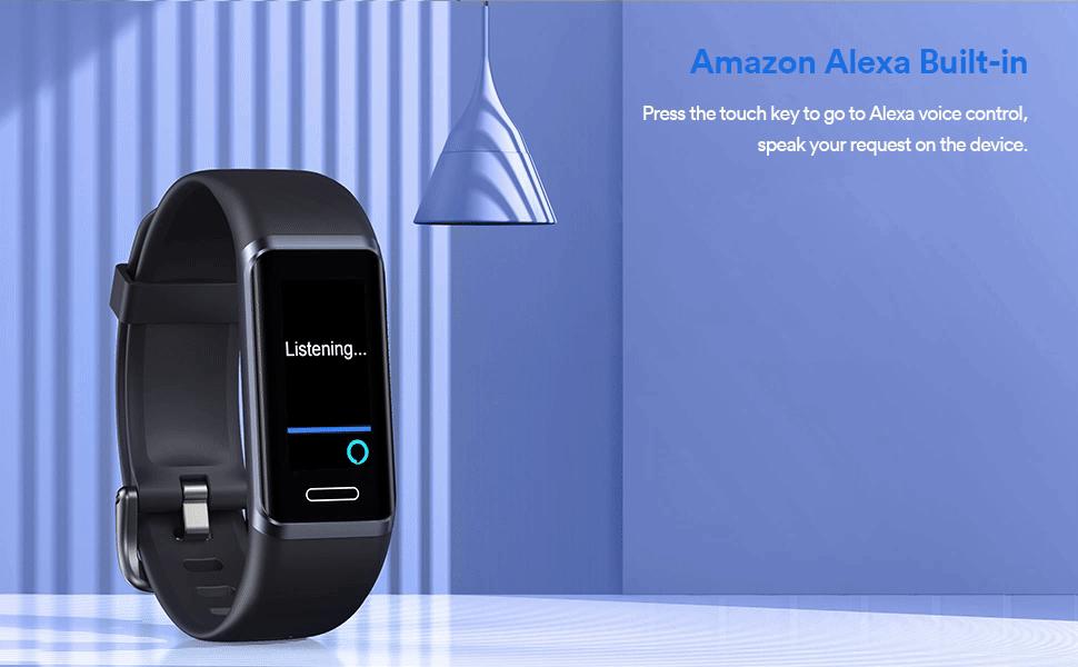 Alexa fitness tracker