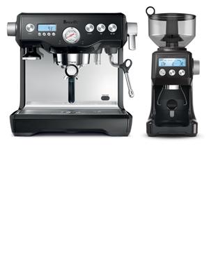 black dynamic duo coffee maker