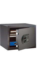 Burg-Wächter Home-Safe H 1 E Caja Fuerte de Empotrar, Negro, HxBxT: 278x402x376: Amazon.es: Bricolaje y herramientas