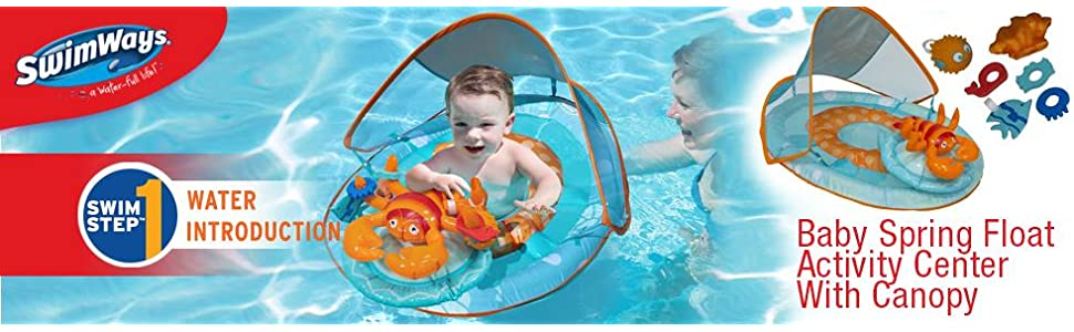 Amazon Com Swimways Baby Spring Float Activity Center