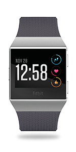 Fitbit; ionic; ionic adidas; smartwatch; female health; men health; sports; GPS; swim; altitude
