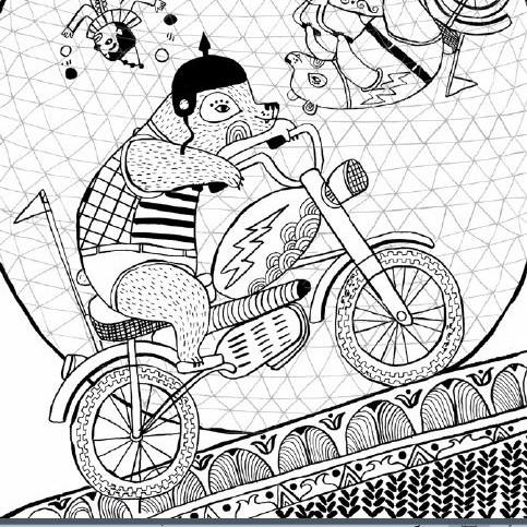 Just Add Color Circus: 30 Original Illustrations To Color, Customize ...