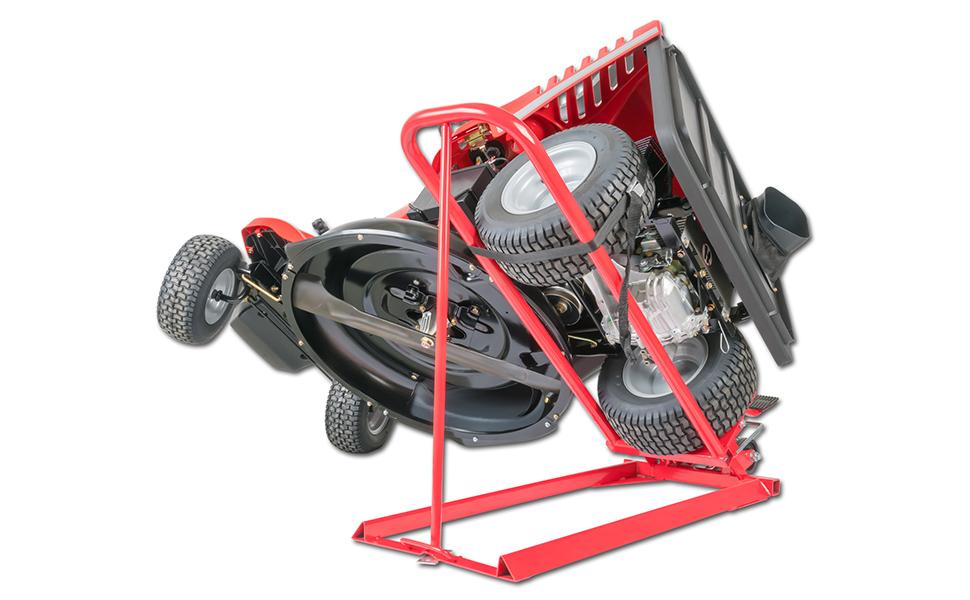 Arnold 6031-X1-0013 Heber f/ür Rasentraktoren und Aufsitzm/äher hydraulisch Rot