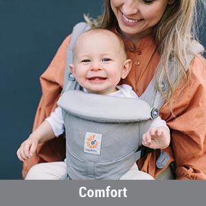 Amazon Com Ergobaby Omni 360 All In One Ergonomic Baby Carrier