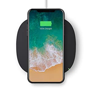 Belkin Boost Up Qi Wireless Charging Pad 5W – Universal Wireless Charger for iPhone XR, XS, XS Max / Samsung Galaxy S9, S9+, Note9 / LG, Sony and more