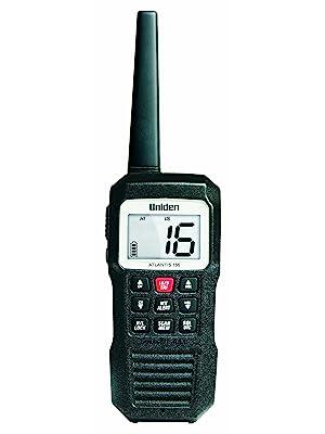atlantis 155 Uniden marine radio black