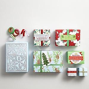 3 Pack Martha Stewart 30068351 Washi Tape Christmas Holiday Craft Scrapbooking