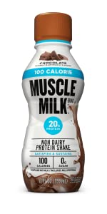 Muscle Milk 100 Calorie Protein Shake, Chocolate,