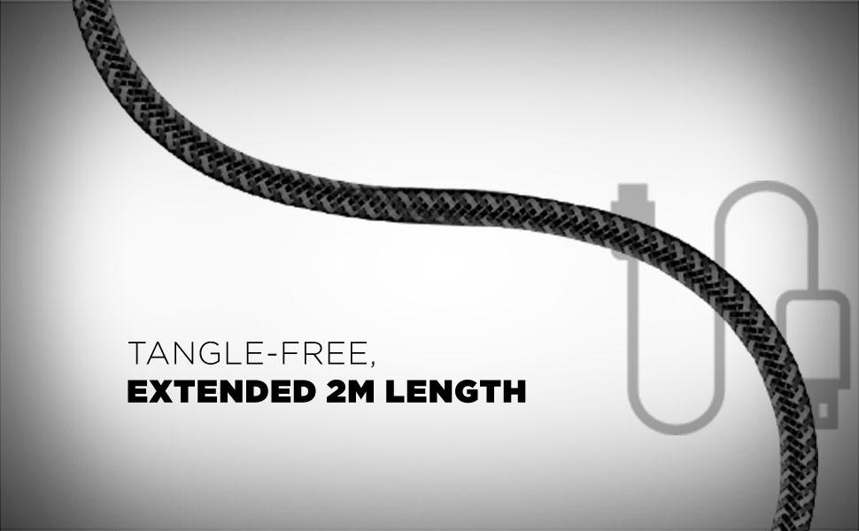 Tangle free length