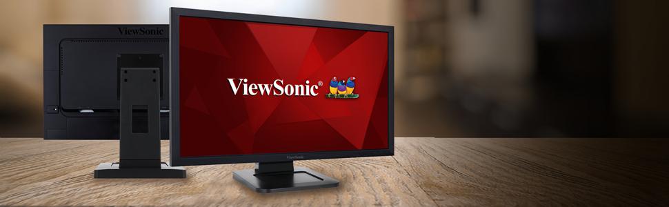 Viewsonic Td2421 59 9 Cm Touch Monitor Schwarz Computer Zubehör