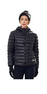 Wantdo Women's Hooded Packable Ultra Light Weight Down Coat at ...