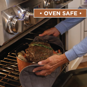 Oven Safe, Induction Safe