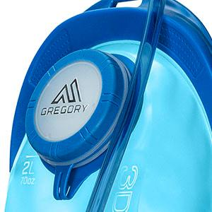 Gregory 3D Hydro 2L Reservoir Optic Blue One Size Gregory Mountain Products 77918-5583