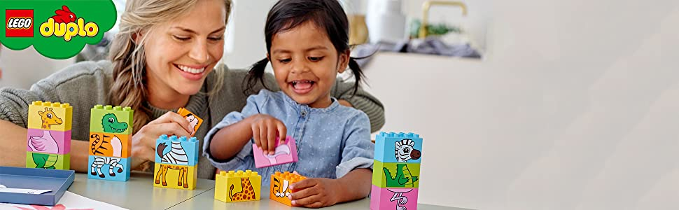 puzzle-pink-yellow-blue-green-orange-tiger-giraffe-zebra-crocodile-flamingo-stacking-lego-duplo