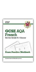9-1 GCSE GCSE French AQA Exam Practice Workbook