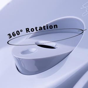 Manual Humidifier,Variable Mist Humidifier, Compact Humidifier, Medium Room Humidifier,Rotating Mist