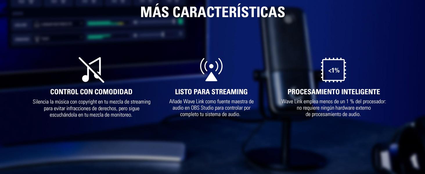 Elgato Wave:1 Micrófono Condensador USB de Calidad y Solución de Mezcla Digital, Tecnología Antisaturación, Botón de Muteo, Streaming y Podcasting: Amazon.es: Informática