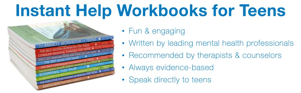 Our workbooks for teens are fun & engaging, recommended by therapists, and speak directly to teens.