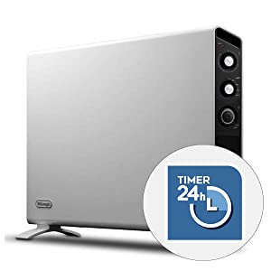 delonghi heaters with timer