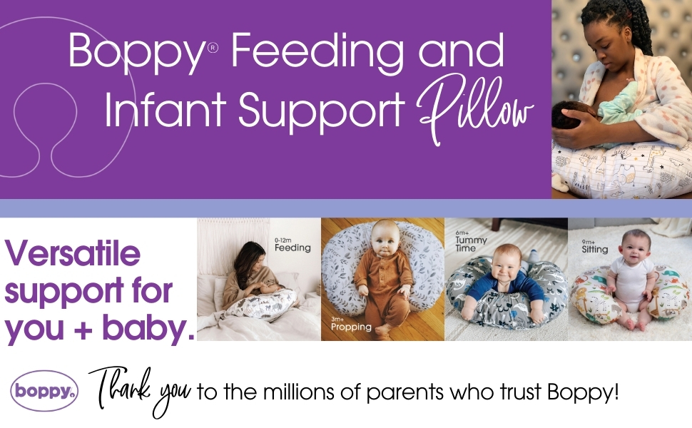 Boppy, Boppy Feeding and Infant Support Pillow, Nursing Pillow, Breastfeeding, Boppy Pillow