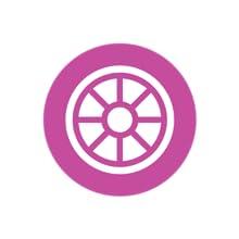 Rubberized Wheel