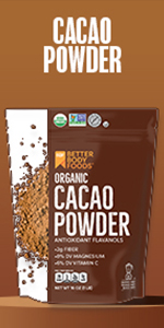 Organic Cacao Powder BetterBody Foods