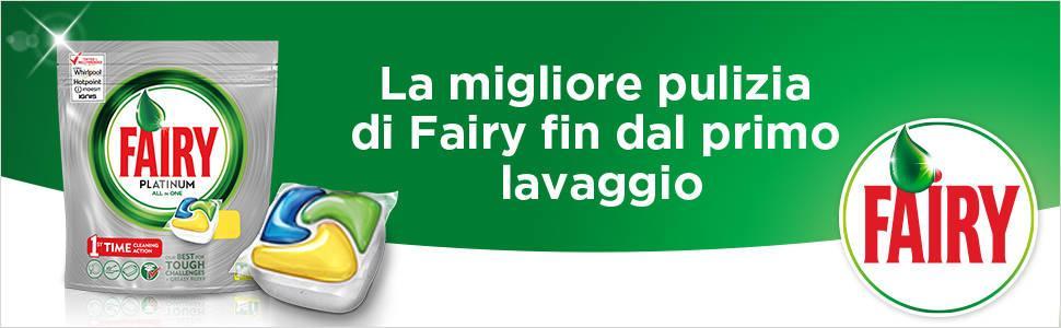 Fairy platinum caps per lavastoviglie original for Cucinare nella lavastoviglie