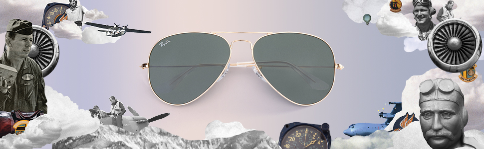 78dcdd3c9 Amazon.com: Ray-Ban RB3025 Aviator Metal Sunglasses.: Shoes