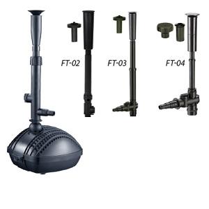 AquaForte Wasserspielpumpen FP-3000 mit FT03 60Watt 3000l//h 2,8m F/örderh/öhe