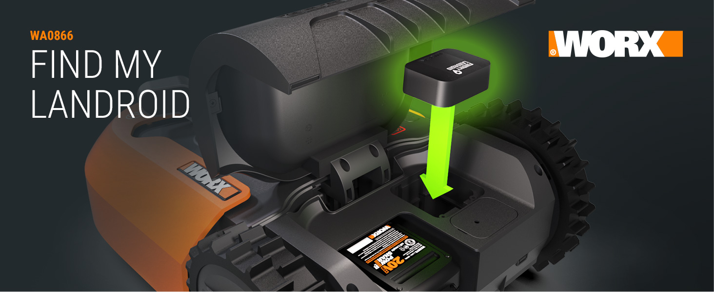 WORX WA0866 Find GPS Module Landroid Accessory Black