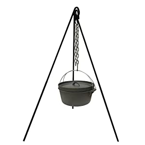Stansport Cooking Tripod For Outdoor Campfire