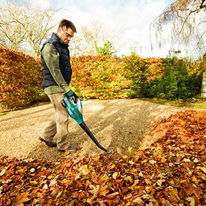 Ozito;cordless leaf blower;diy;makita;ryobi;stihl;leaf collector;leaf;garden;06008A0302;ALB;18V