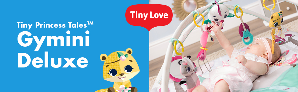Tiny Love, Gymini and Activity Gyms, Tiny Princess Tales collection, Gymini Deluxe, module 1