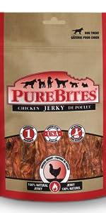 Chicken; jerky; purebites;dog; treat