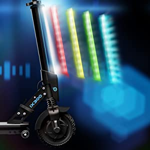 Patinete eléctrico IX300 de Bluewheel App Smartphone LED Bluetooth,LCD Display Apto niños Adultos