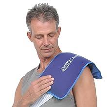 shoulder pain, tendinitis, joint pain, frozen shoulder, cold pad, cold pack