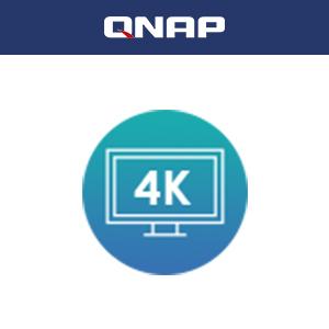 4Kメディアの再生とリアルタイムのトランスコーディング。HDMI 2.0(4K @60Hz)出力からHDTVで直接ビデオの視聴が可能。