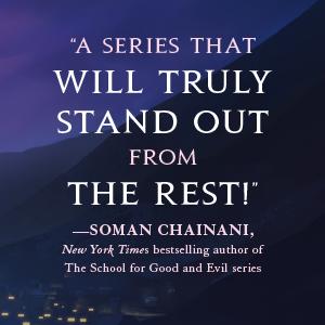 soman chainani, school good evil, series