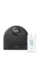 neato D4, robotic vacuum for pet hair, irobot, roomba, shark vac, neato connected, alexa vacuum