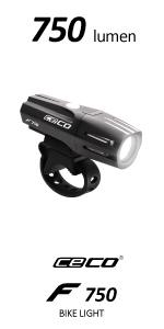 USA USB rechargeable bike light