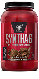SYNTHA-6 is an ultra-premium protein powder with 22g protein per serving