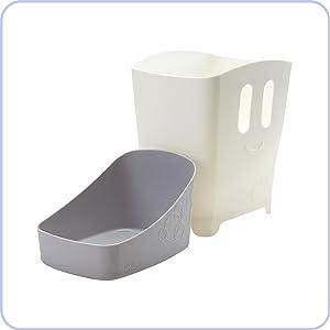 premium baby bath toy storage, bath toy organiser, baby bath, baby organiser, mold free bath toy